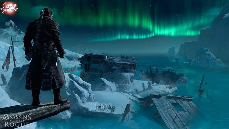 Assassins Creed Rogue пейзаж