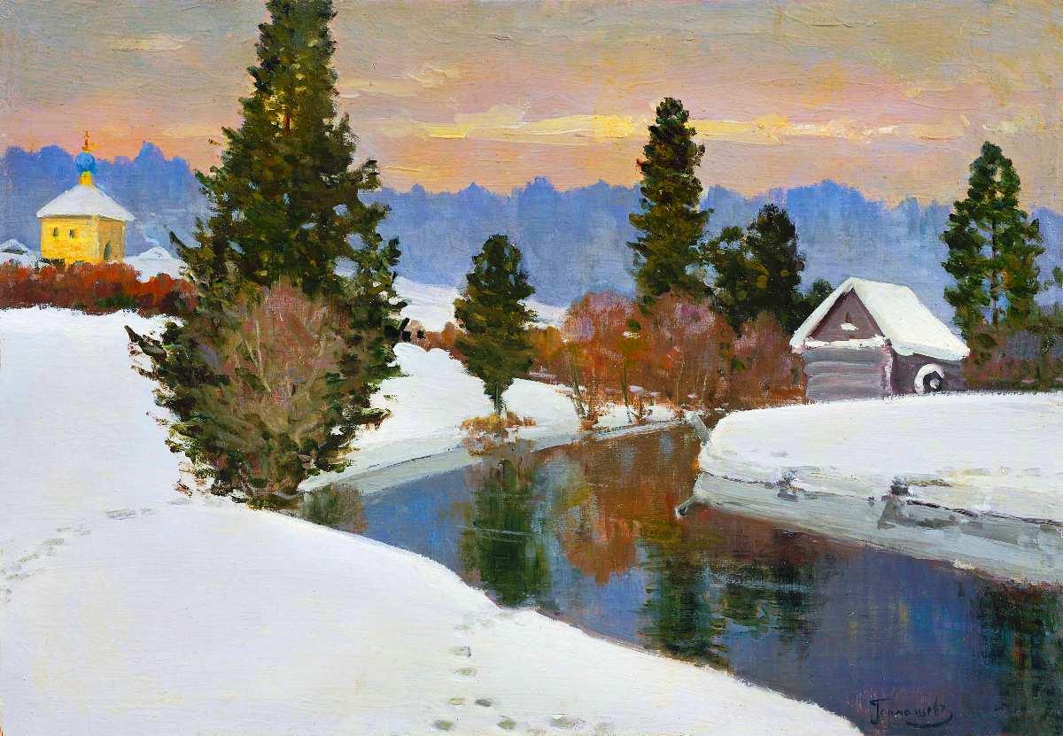 Зимние картины 156