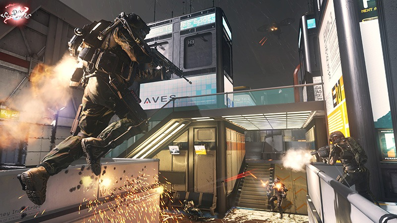 Call of Duty Advanced Warfare экзоскелет