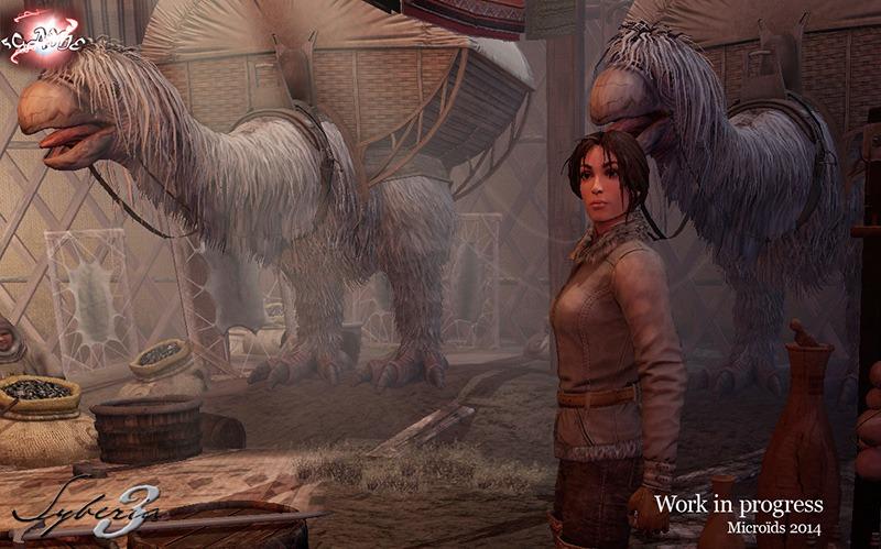Syberia 3 персонажи