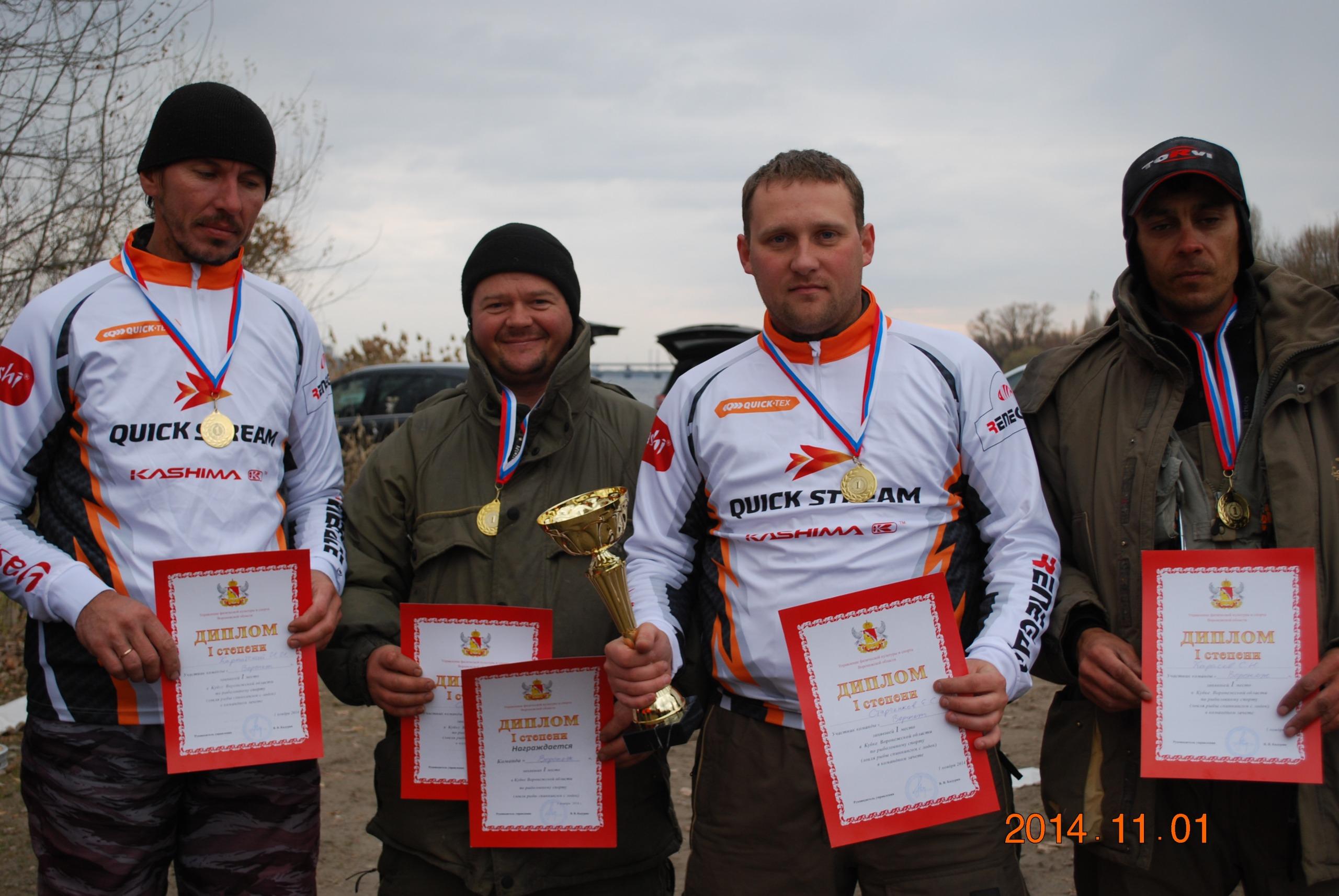 воронеж федерация рыболовного спорта