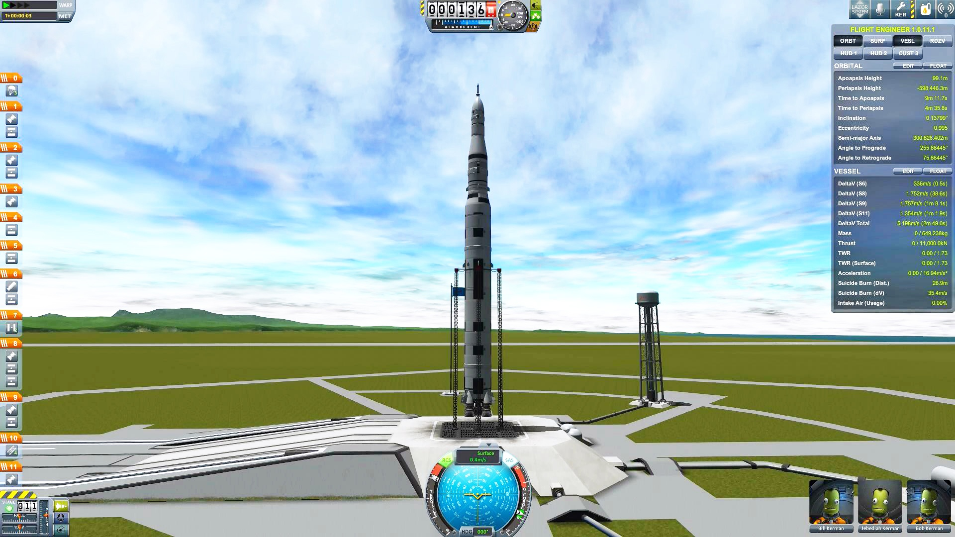 Реконструкция миссии «Аполлон-11»