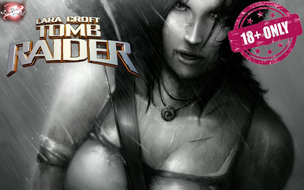 Голая Лара Крофт. Героиня Tomb Raider голая в игре