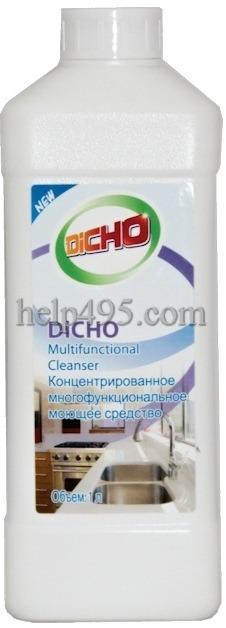 Как работает  продукция Тяньши: Концентрированное многофункциональное моющее средство DICHO