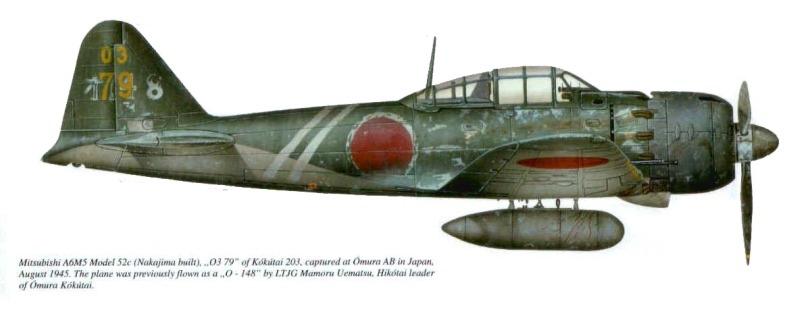 Легендарные Самолеты №103 Mitsubishi A6M5c Zero