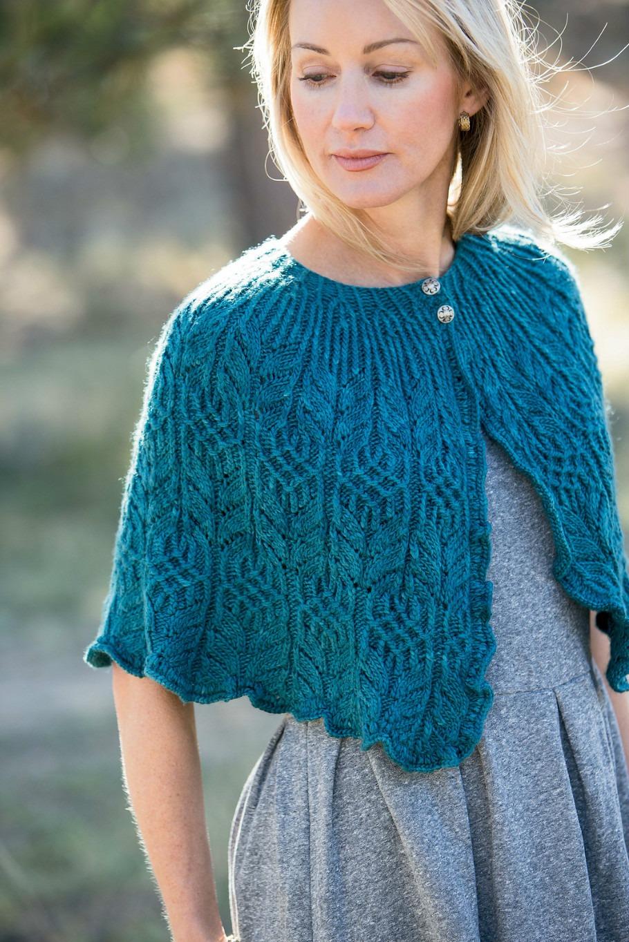 Фото вязания накида на спицах
