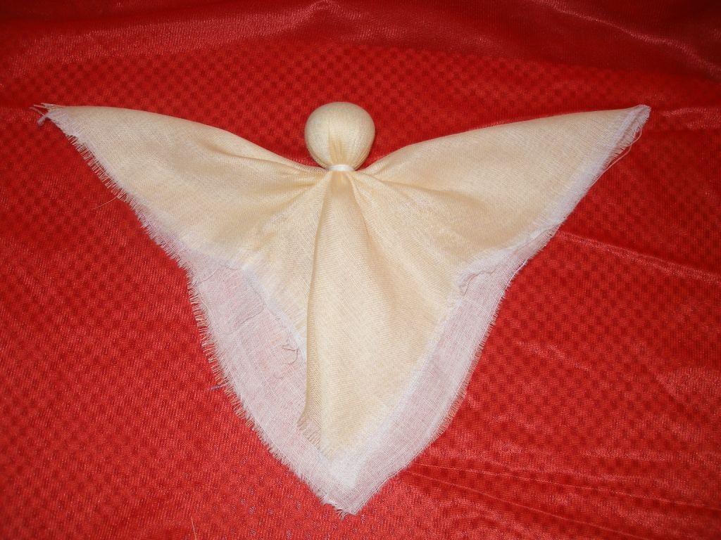 Как сделать ангелочка своими руками 6