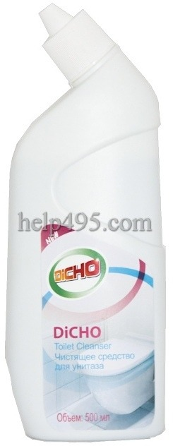 Как работает  продукция Тяньши: Чистящее средство для унитазов DICHO