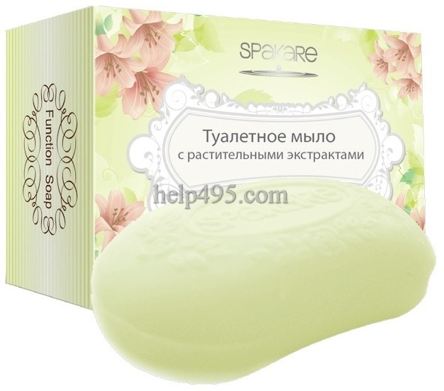 Состав и действие туалетного мыла с растительными экстрактам Detox серии SPAKARE
