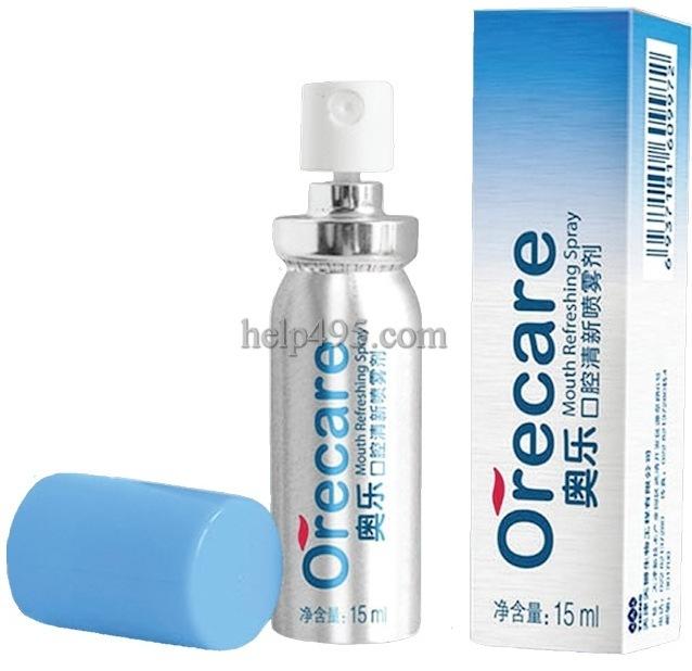 Как действует освежающий спрей для полости рта Orecare?