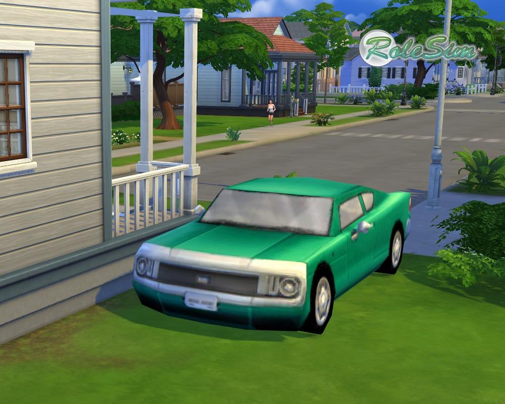 Мод для Симс 4 на Машины