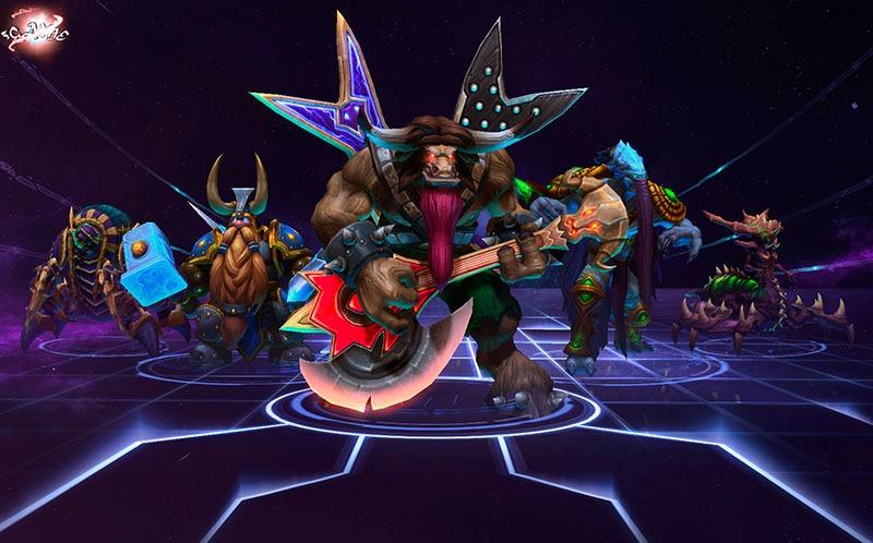 heroes of the storm персонажи