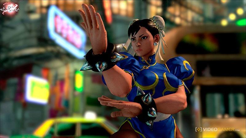 комбо Street Fighter V