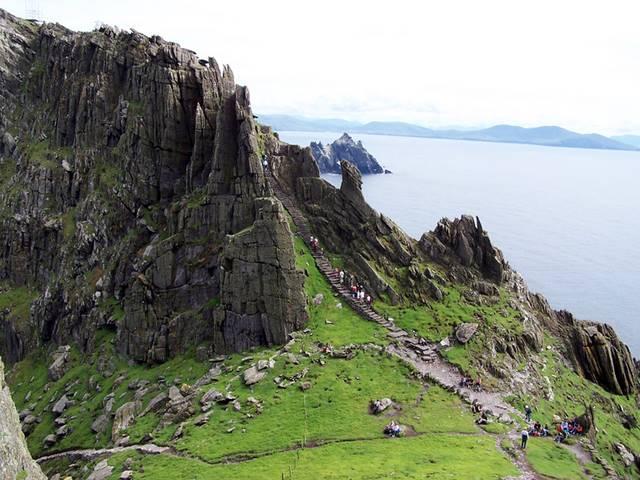 Скеллиг-Майкл – мистическое место в Ирландии 334177