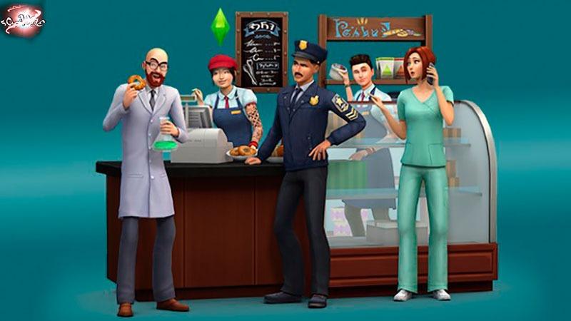 Sims 4 на работу