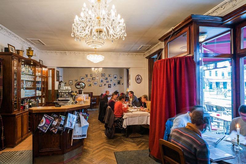 Семь популярных русских ресторанов за границей (фото+текст)
