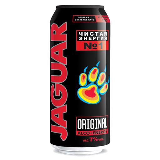 Напиток ягуар