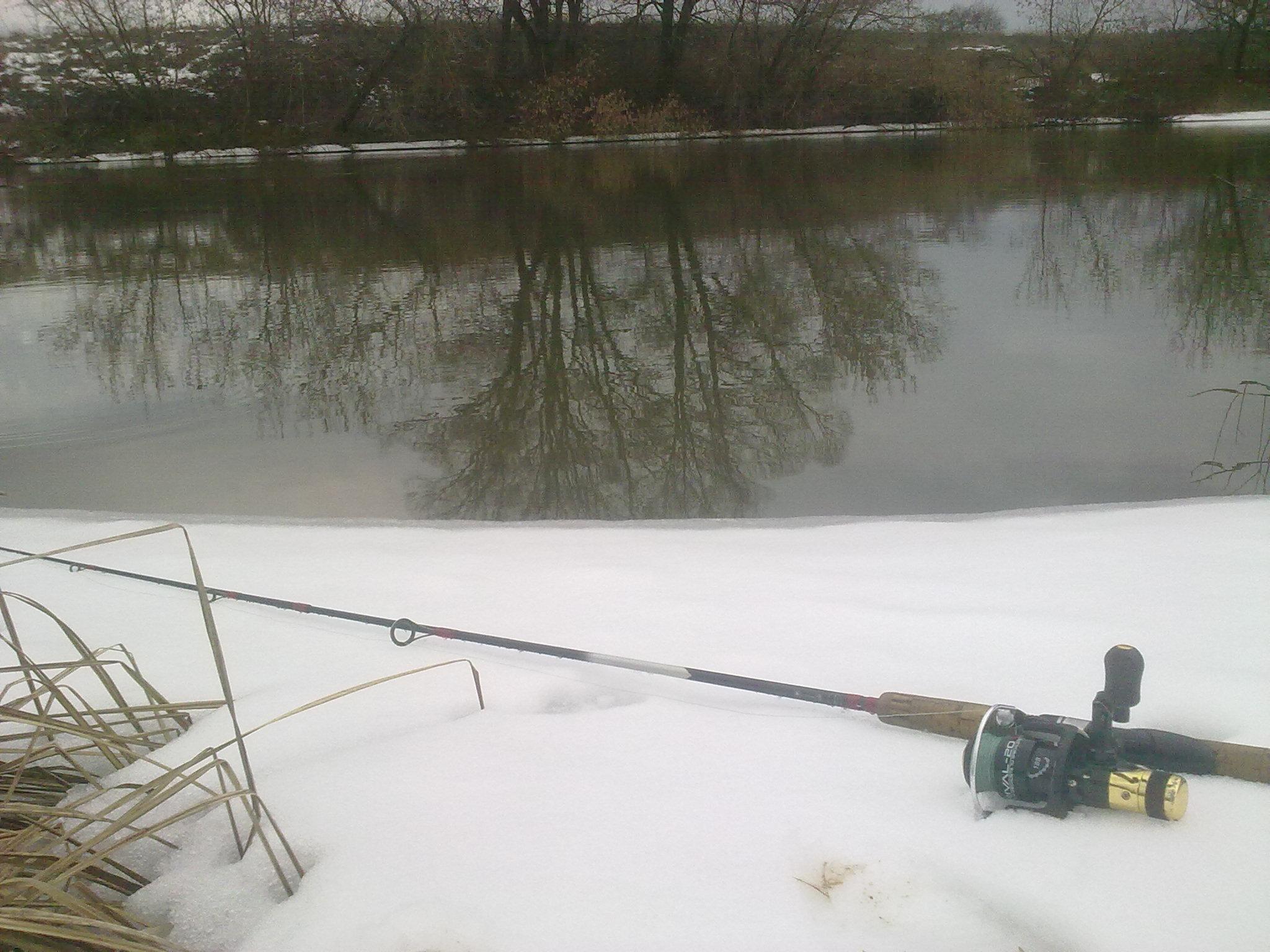 рыбалка в феврале на оке