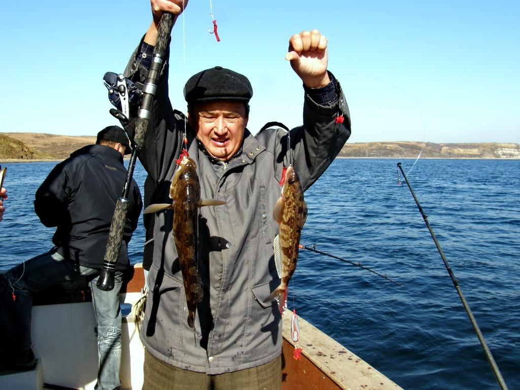 ловля окуня владивосток