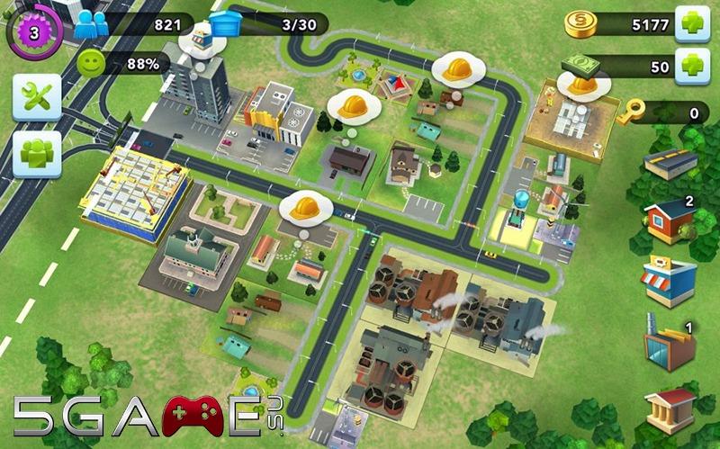 SimCity Buildit на Андроид устройствах получило обновление