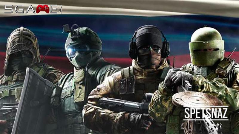 Rainbow Six Осада русский спецназ