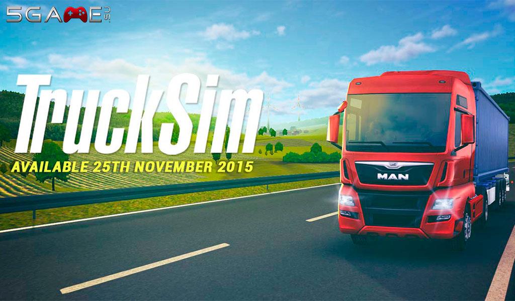 Игра TruckSim позволит в симулятор дальнобойщика играть с телефона