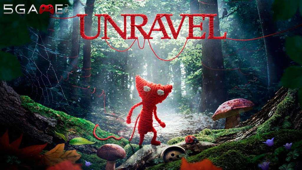 Unravel игра в необычном исполнении