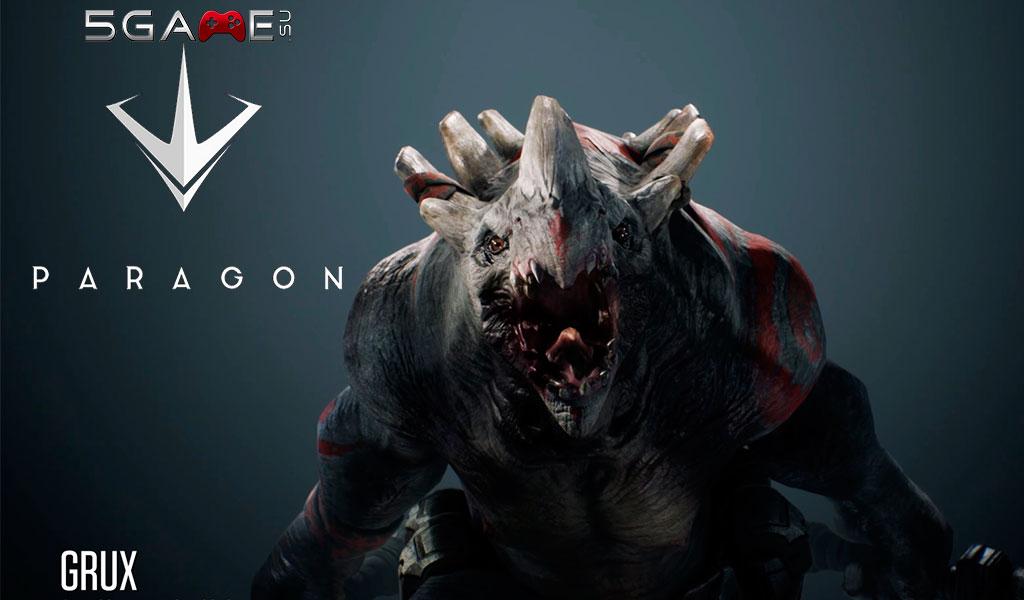 Игра Paragon видео последнего персонажа получила еще вчера