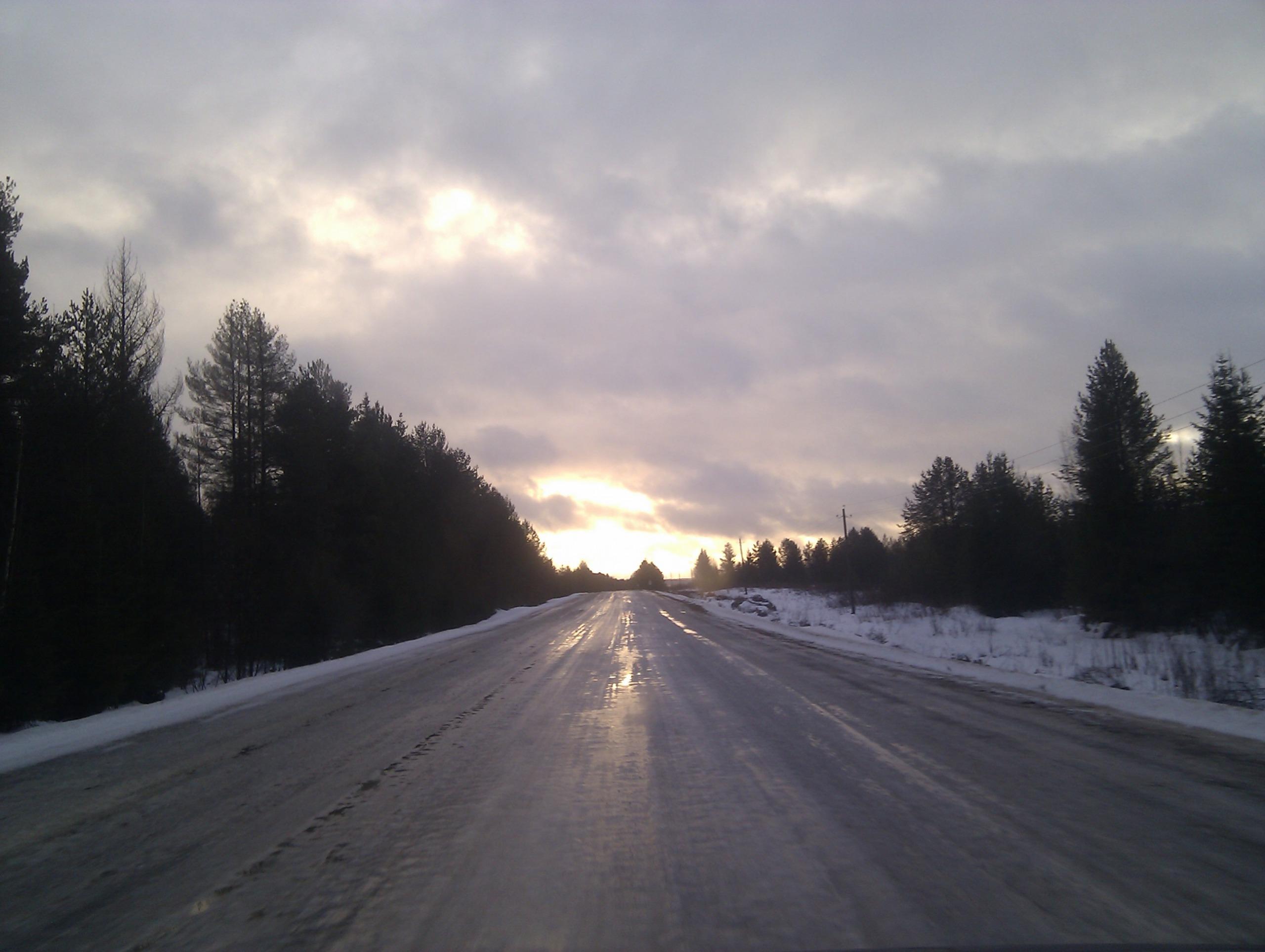Дорога от Тотьмы до Никольска | Дороги Вологодской области