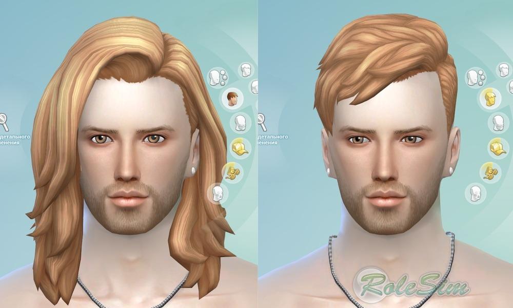 Sims 4 мод на прически 121