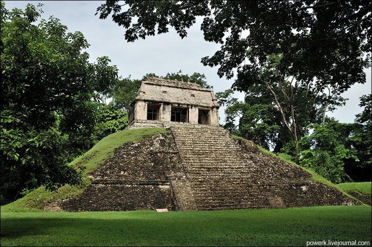 Гробница Пакаля в Храме Надписей в Паленке 358318