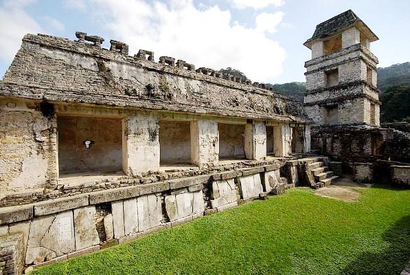 Гробница Пакаля в Храме Надписей в Паленке 358346