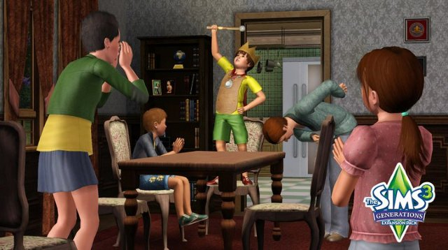 """The Sims 3: Generations"" Скиншоты и Видео 374787"