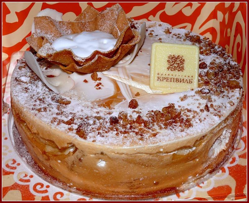 торт французский крепвиль рецепт от селезнева
