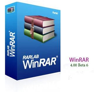 WinRAR 4.00 Beta 6, WinRAR для Windows 7