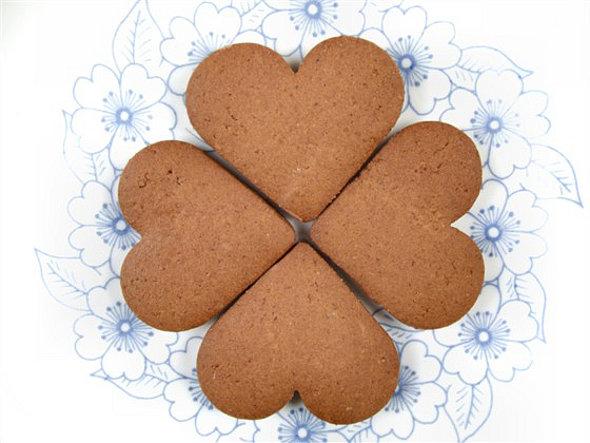 рецепт печенья сердечек газу фото