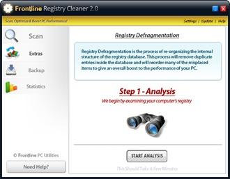 Frontline Registry Cleaner v 2.0
