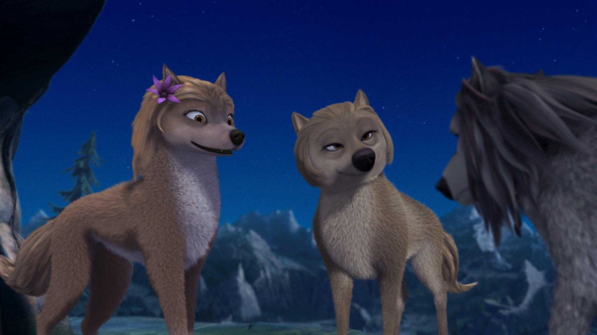 Альфа и Омега: Клыкастая братва (2010) DVDRip