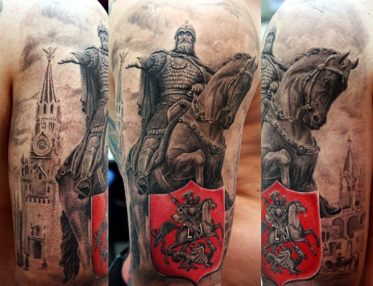 славянские татуировки для мужчин значение