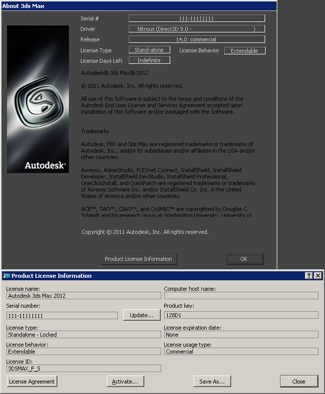 Autodesk 3ds Max 2012 x86 Eng