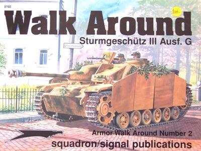 Sturmgeschutz III Ausf.G [Walk Around Squadron-Signal №5702]