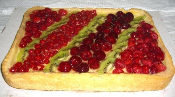 Фото пирог фруктовый