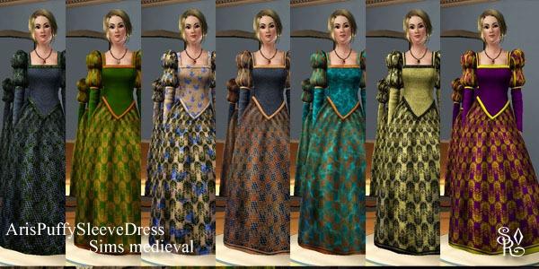 Современные Платья В Стиле Средневековья