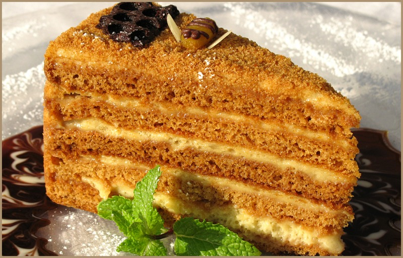 торт рыжик рецепт от бабушки