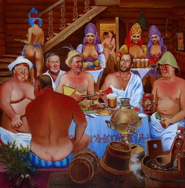 Русские сауны с девочками секс фото 426-253