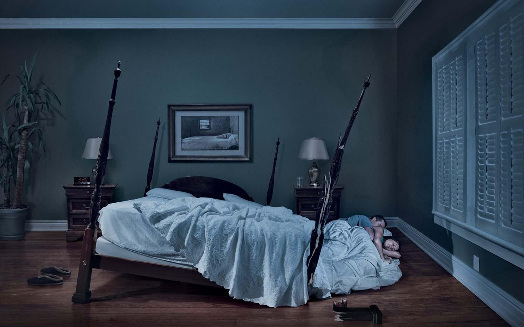 Фото муж и жена в спальне