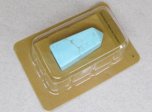 Энергия камней № 60 Голубой говлит (обелиск) фото, обсуждение
