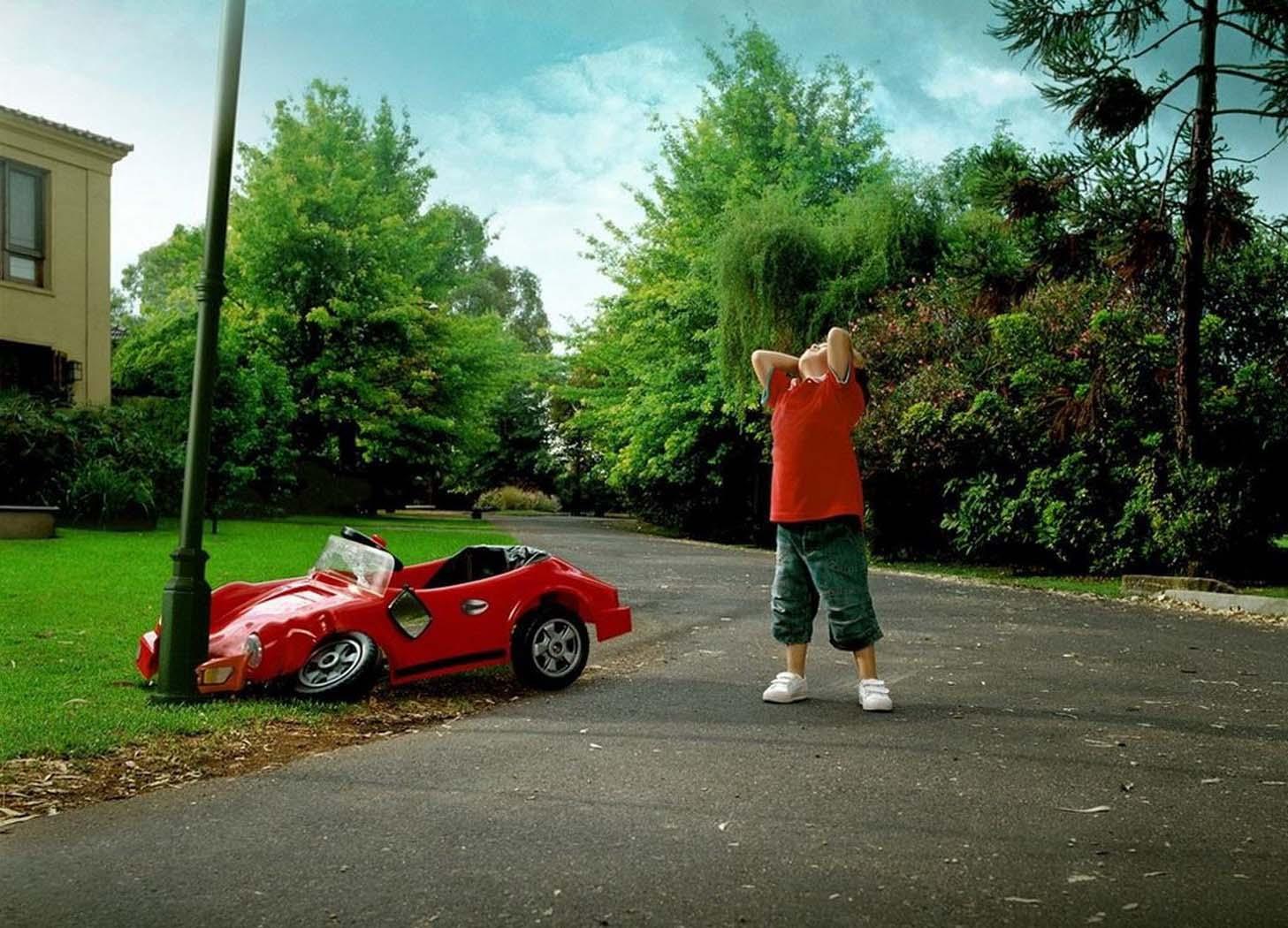 Как сделать прикольное фото с машиной