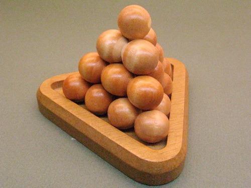 Занимательные головоломки №9 Пирамида из шаров фото, обсуждение