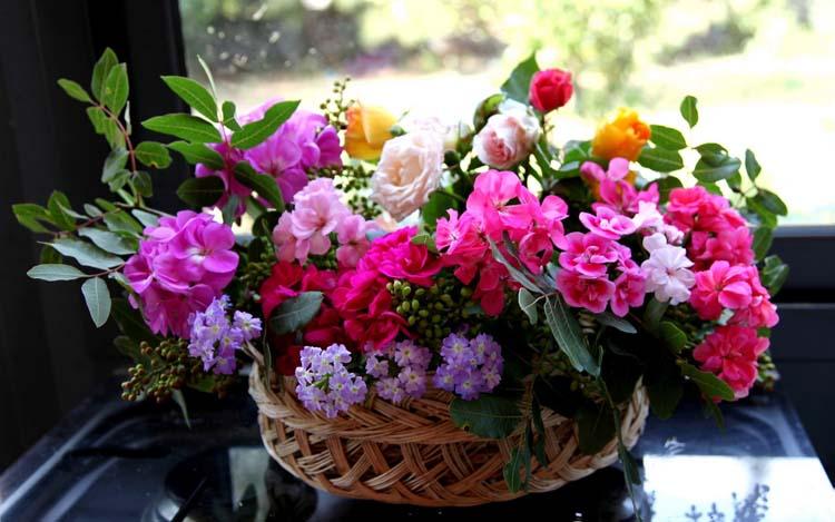 Цветы Букеты Обои рабочий стол: fon1.ru/load/66-1-0-4024